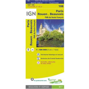 IGN 108 Paris/Rouen