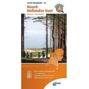 ANWB Regiokaart 10 Noord-Hollandse Kust