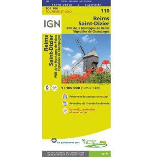 IGN 110 Reims/St-Dizier