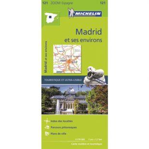 Michelin 121: Madrid Et Ses Environs