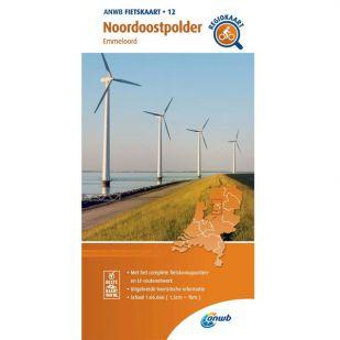 ANWB Regiokaart 12 Noordoostpolder
