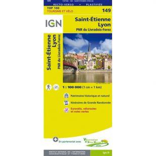 IGN 149 Lyon/St-Etienne