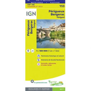 IGN 153 Perigueux/Bergerac