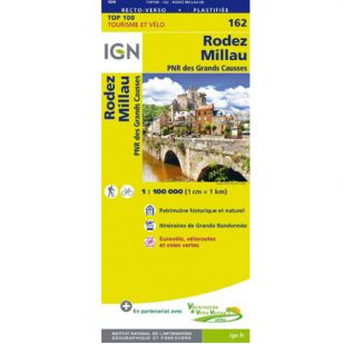 IGN 162 Rodez/Millau