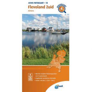 ANWB Regiokaart 18 Flevoland zuid