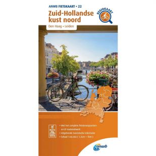 ANWB Regiokaart 22 Zuid-Hollandse Kust noord