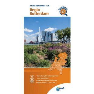 ANWB Regiokaart 25 Rotterdam