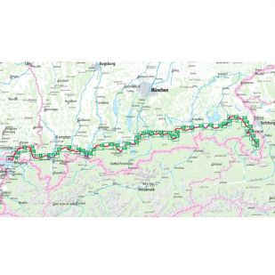 Bodensee Konigssee Radweg Bikeline Fietsgids