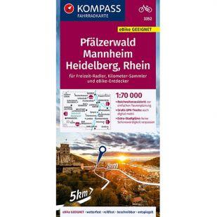 KP3352 Pfälzerwald - Mannheim - Heidelberg - Rhein