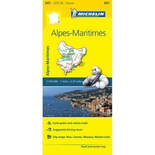 Michelin 341 Alpes Maritimes