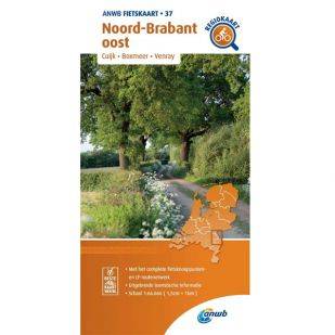 ANWB Regiokaart 37 Noord-Brabant oost - Limburg noord