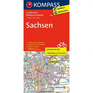 KP3708 Radkarte Sachsen