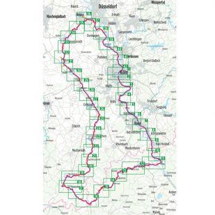 3 Flusse Tour Bikeline Fietsgids 315 km (2020)