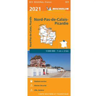 Michelin 511 Nord-Pas-De-Calais/Picardie 2021