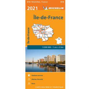 Michelin 514 Ile De France 2021