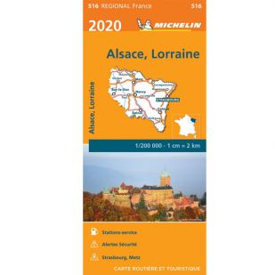 Michelin 516 Alsace Lorraine 2020
