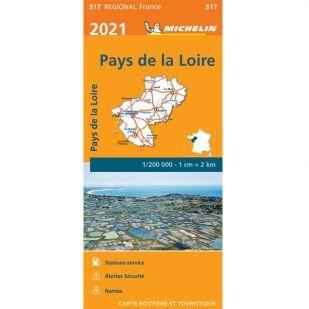 Michelin 517 Pays de la Loire 2021