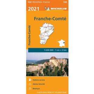 Michelin 520 Franche Comte 2021