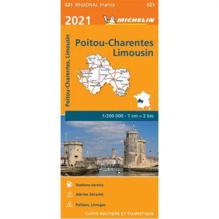 Michelin 521 Poitou Charente 2021