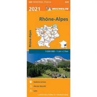 Michelin 523 Rhone-Alpes 2021