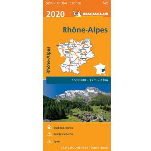 Michelin 523 Rhone-Alpes 2020