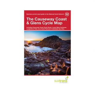 52. The Causeway Coast & Glens Pocket Cycle Map