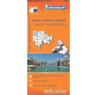 Michelin 553 Zwitserland Zuidoost