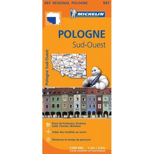 Michelin 557 Pologne Sud-Ouest