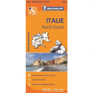 Michelin 561 Italie Nord-Ouest Michelin