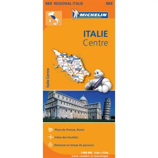 Michelin 563 Italië Centre