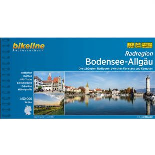 Bodensee-Allgau Radregion Bikeline Fietsgids