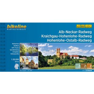 Alb-Neckar Radweg, Kraichgau-Hohenlohe-Radweg, Hohenlohe-Ostalb- Radweg Bikeline Fietsgids