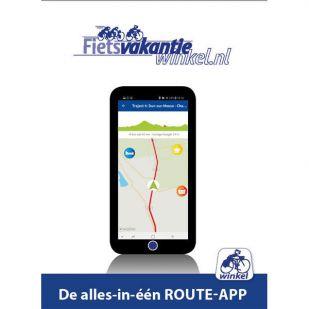 In uw App-store: St. Jacobs fietsroute deel 2