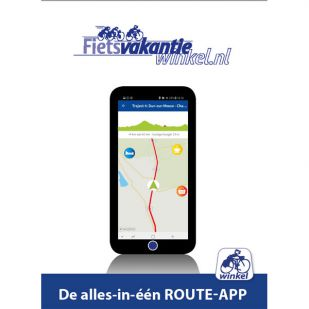 Route App Fietsvakantiewinkel