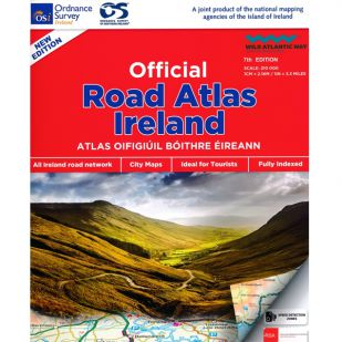Ireland Roadatlas spiraal