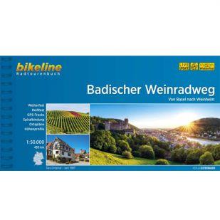 Badischer Weinradweg Bikeline Fietsgids (2020)