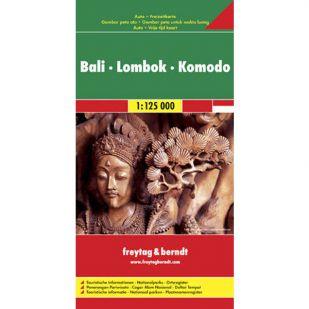 Bali Lombok Komodo (1:125.000)