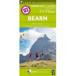 Pyrénées Carte no.3: Béarn
