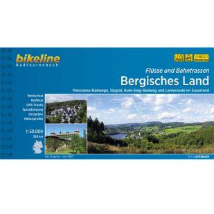 Bergisches Land - Flusse und Bahntrassen Bikeline Fietsgids !