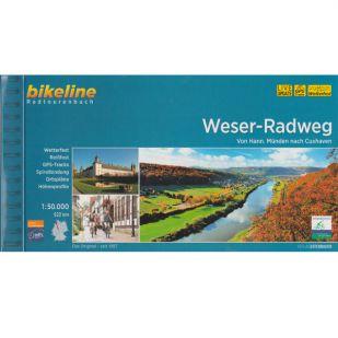 Weser Radweg Bikeline Fietsgids 2020