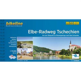 Elbe Radweg Tschechien Bikeline Fietsgids