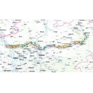 Römer-Lippe- Route Bikeline Fietsgids