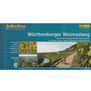 Württemberger Weinradweg Bikeline Fietsgids