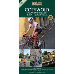 Cotswolds Cycling Map Goldeneye