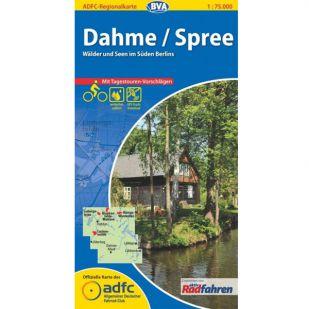 Dahme / Spree Fietskaart