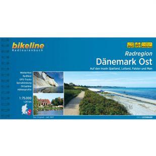 Danemark Ost Radregion Bikeline Fietsgids