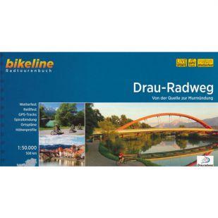 Drau Radweg Bikeline Fietsgids (2021)