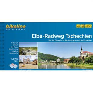 Elbe Radweg Tschechien Bikeline Fietsgids !