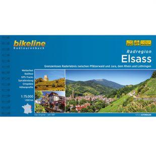 Radregion Elsass  Bikeline Fietsgids