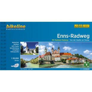 Enns Radweg Bikeline Fietsgids